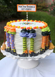 free halloween witch cake tutorial by my cake cake
