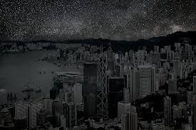 what cities would look like without any lights imgur space