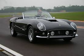 ferrari california 1961 living the spyderman dream at the wheel of james coburn u0027s