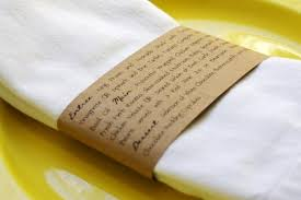 rond de serviette mariage menu de mariage rond de serviette décoration forum mariages net