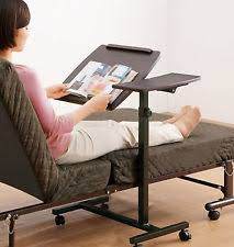 laptop table rolling sofa bedside food tray computer desk