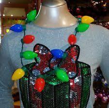 flashing christmas light necklace 7 best christmas light bulb necklace craft images on pinterest