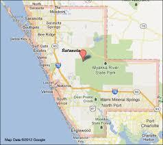 Map Of North Florida Counties Sarasota County Florida Map