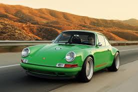 green porsche 911 singer racing green porsche 911 porsche mania