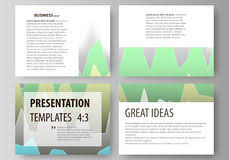presentation layout design for financial cover page template