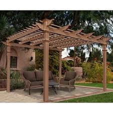 White Vinyl Pergola Kits by Vinyl Pergolas You U0027ll Love Wayfair