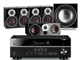 av receiver home theater yamaha rx v583 av receiver w dali zensor 1 speaker package 5 1