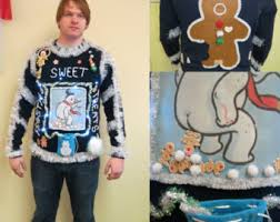 the ugly christmas sweater shop by tackyuglychristmas on etsy