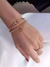 bead bracelet tiffany images Tiffany 18k gold bead bracelet bracelet most popular hot selling jpg