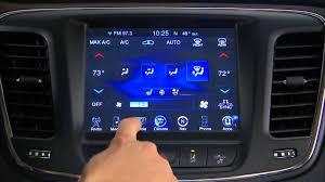 chrysler steering wheel 2015 chrysler 200 heated steering wheel uconnect 8 4an youtube