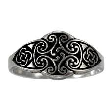 celtic knot ring cross of the goddess celtic knot ring