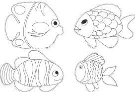 coloriage poisson d u0027avril