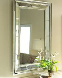 Beveled Mirror Bathroom by Double Bevel Mirror At Horchow Yessss I Think I Want It To Hang