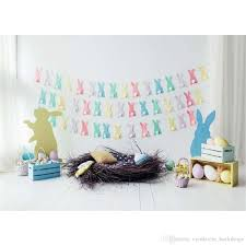 easter backdrops happy easter baby newborn photography backdrops printed paper cut