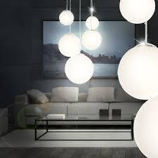 Pendelleuchten Esszimmer Ebay Moderne Led Pendelleuchte 5 Opal Glas Kugeln Hänge Lampe 30 Watt