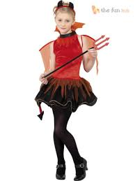 Halloween Costumes Girls Teens Age 13 15 Girls Teen Red Devil Halloween Fancy Dress Costume Child