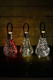 mercury glass light bulbs ornaments battery op