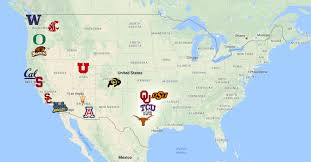 Tcu Map We Destroy The Big 12 Every Day Should Be Saturday
