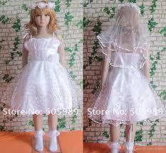 cute girls pageant children dress spaghetti straps puffy