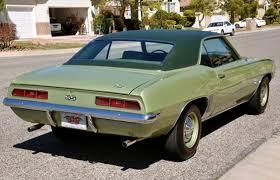 green camaro ss green with envy 1969 chevrolet camaro ss scd motors the