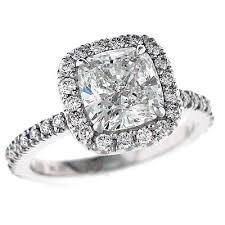 cushion halo engagement rings enchanting cushion cut princess cut engagement ring 88 for