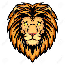 lion face clip art many interesting cliparts