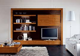 tv stand elegant wood tv unit design floating shelves box coffee