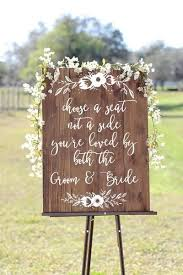 wedding seating signs the 25 best wedding seating signs ideas on country