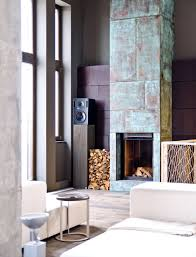 fireplace facing stone u2014 office and bedroom
