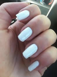white gel nails how you can do it at home pictures designs