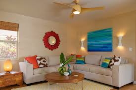 tropical themed living room themed living room decor living room tropical with wall