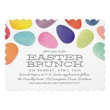 easter brunch invitations easter celebration invitations announcements zazzle