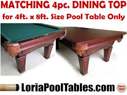 Dining Pool Table by 4pc Conversion Dining Top Loria Awards