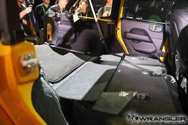 yellow jeep 4 door la auto show hella yella jlu wrangler rubicon photos 2018 jeep