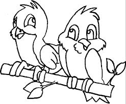 pictures birds colour kids coloring