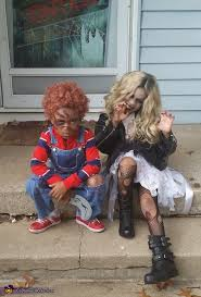 Toddler Chucky Costume Child U0027s Play Movie Chucky And Bride Of Chucky Kids Costume