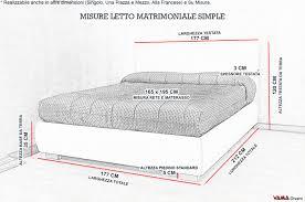 misura materasso matrimoniale 40 immagini idea di misure materasso una piazza e mezza