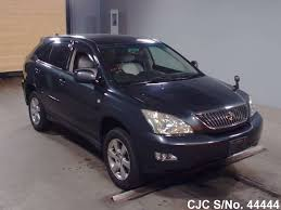 toyota lexus used car sale 2004 toyota harrier dark gray for sale stock no 44444