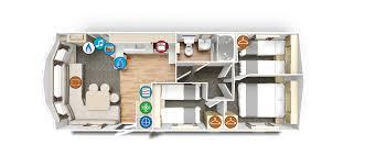 Static Caravan Floor Plan New Willerby Rio Gold 30x12 3 Bed For Sale In Swansea West