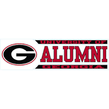 uga alumni sticker of decals bulldogs stickers the official