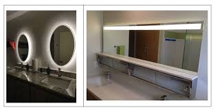 Lighting Mirrors Bathroom Bathroom Lighting Showering You With Ideas Inspiredled