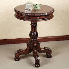 Accent Table Canada Side Table Round Pedestal Accent Table Round Pedestal Accent