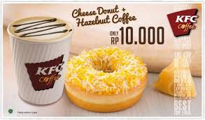 Coffee Kfc kfc puts shredded cheese on donut creates breakfast magic consumerist
