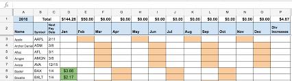 ko stock quote yahoo dividend stock portfolio spreadsheet on google sheets u2013 two investing