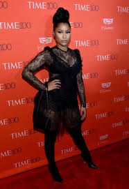 nicki minaj at 2016 time 100 gala most influential people in world