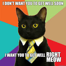 Get Well Soon Meme Funny - i don t want you to get well soon i want you to get well right