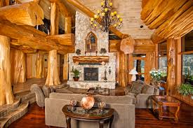 image courtesy of hilliard photographics log home interiors