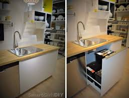 ikea under sink storage sektion what i learned about ikea s new kitchen cabinet line