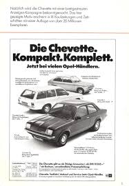 vauxhall t car chevette in germany