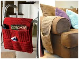 Crochet Armchair Covers Arm Chair Caddy Foter